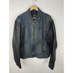 Star Motorcycles Yamaha Motorcycle Jean Leather Jacket Mens Large